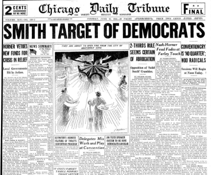 Chicago Daily Tribune June 23, 1936