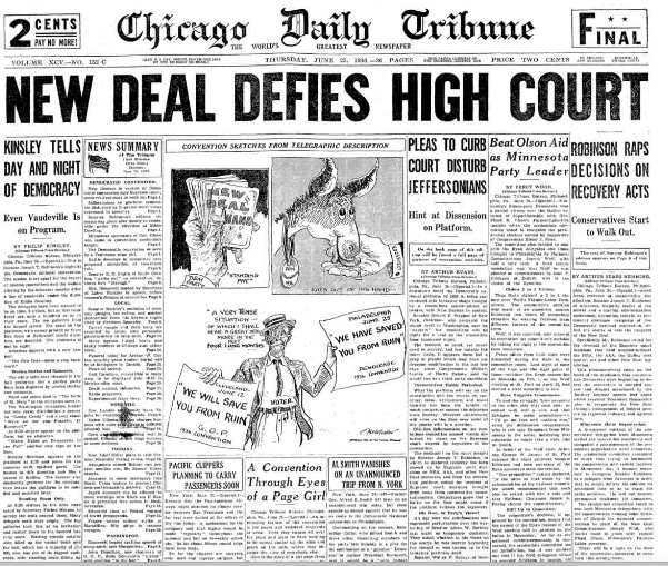 Chicago Daily Tribune June 25, 1936