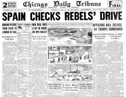 Chicago Daily Tribune July 21, 1936