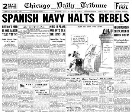 Chicago Daily Tribune July 27, 1936