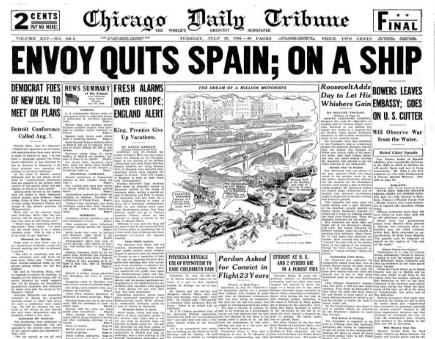 Chicago Daily Tribune July 28, 1936