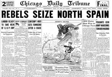 Chicago Daily Tribune July 22, 1936