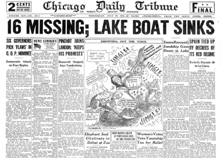 Chicago Daily Tribune July 29, 1936