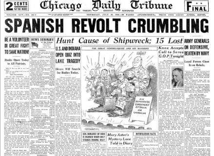 Chicago Daily Tribune July 30, 1936