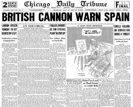 Chicago Daily Tribune July 23, 1936