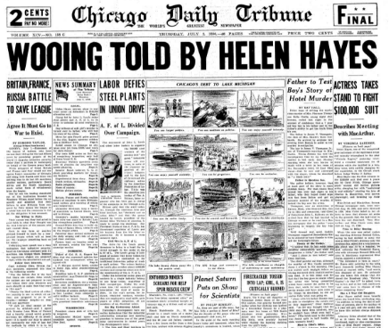 Chicago Daily Tribune July 2, 1936