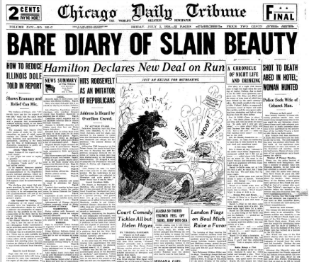 Chicago Daily Tribune July 3, 1936