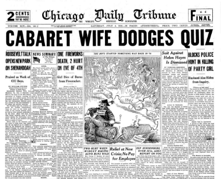 Chicago Daily Tribune July 4, 1936