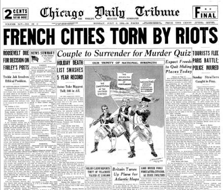 Chicago Daily Tribune July 6, 1936