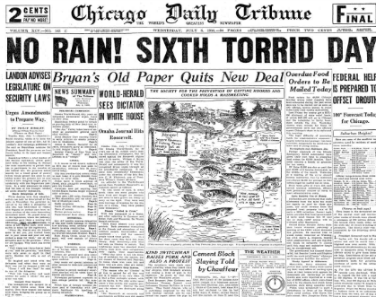 Chicago Daily Tribune July 8, 1936