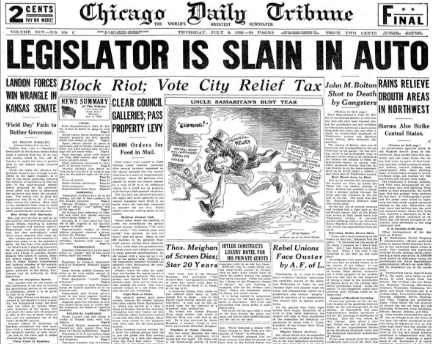 Chicago Daily Tribune July 9, 1936