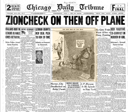 Chicago Daily Tribune July 1, 1936