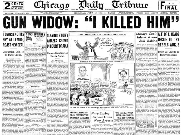 Chicago Daily Tribune July 16, 1936