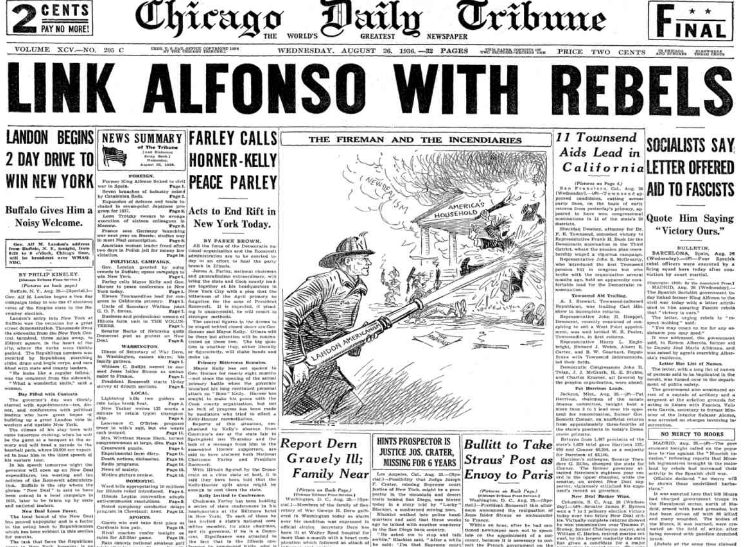 Chicago Daily Tribune August 26, 1936
