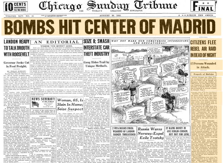 Sunday August 30,1936