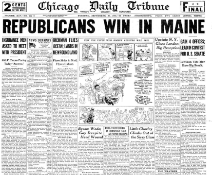 Chicago Daily Tribune Sept 15, 1936