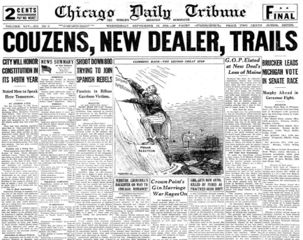 Chicago Daily Tribune Sept 16, 1936