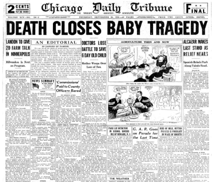 Chicago Daily Tribune Sept 24, 1936