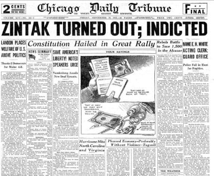 Chicago Daily Tribune Sept 18, 1936