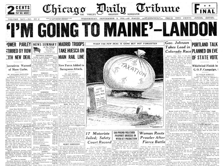 Chicago Daily Tribune Sept 9, 1936