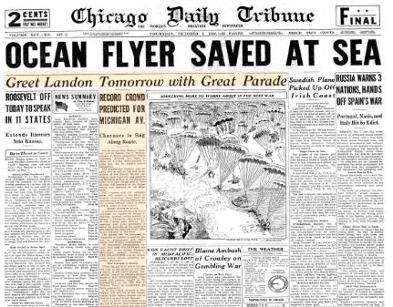 Chicago Daily Tribune October 8, 1936