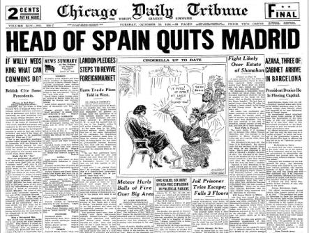 Chicago Daily Tribune October 20, 1936