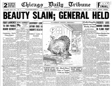 Chicago Daily Tribune November 13, 1936