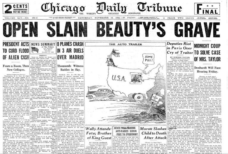 Chicago Daily Tribune November 14, 1936