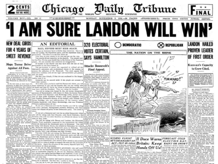Chicago Daily Tribune November 2, 1936