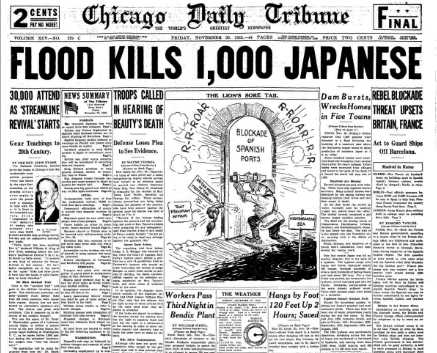 Chicago Daily Tribune November 20, 1936