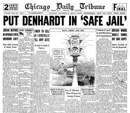 Chicago Daily Tribune November 21, 1936