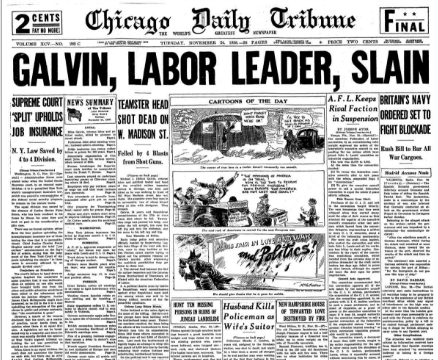 Chicago Daily Tribune November 25, 1936