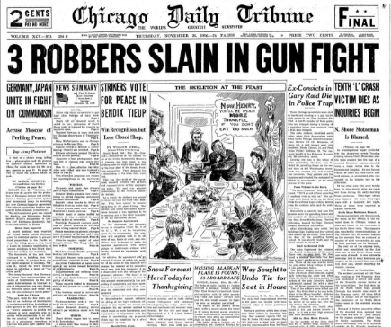Chicago Daily Tribune November 26, 1936