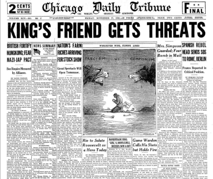 Chicago Daily Tribune November 27, 1936