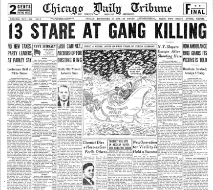 Chicago Daily Tribune December 18, 1936