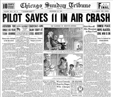 Chicago Sunday Tribune December 20, 1936