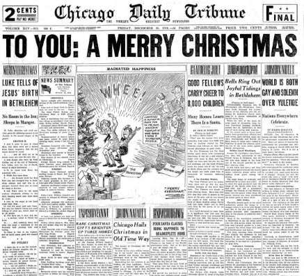 Chicago Daily Tribune December 25, 1936