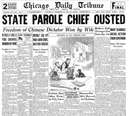 Chicago Daily  Tribune December 26, 1936