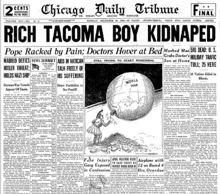 Chicago Daily Tribune December 28, 1936