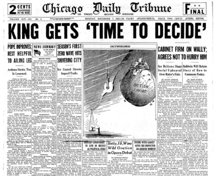 Chicago Daily Tribune December 7, 1936