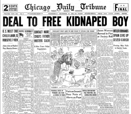 Chicago Daily Tribune December 30, 1936