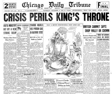 Chicago Daily Tribune Dec 3, 1936
