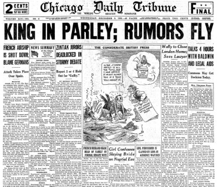 Chicago Daily Tribune December 9, 1936