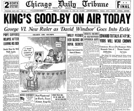 Chicago Daily Tribune December 11, 1936