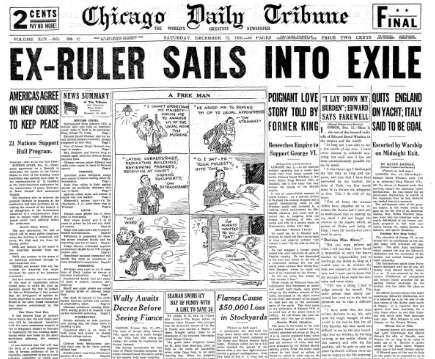 Chicago Daily Tribune December 12, 1936