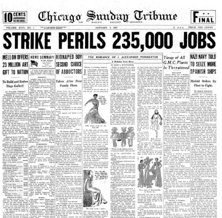 Chicago Daily Tribune January 3, 1937