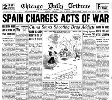 Chicago Daily Tribune January 4, 1937
