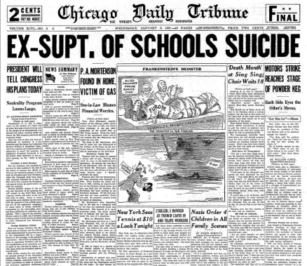 Chicago Daily Tribune January 6, 1937
