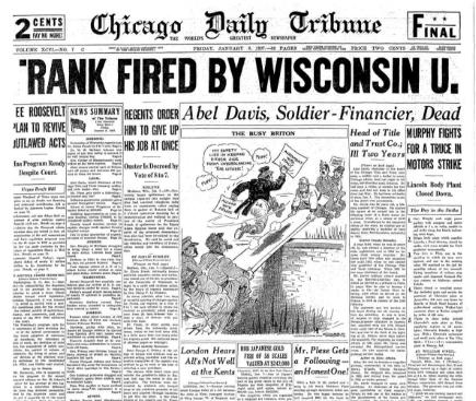 Chicago Daily Tribune January 8, 1937