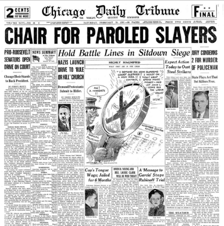 Chicago Daily Tribune January 20, 1937